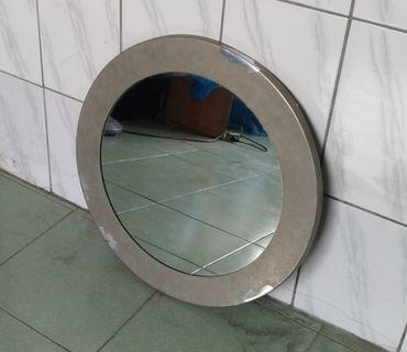 不鏽鋼圓框掛鏡