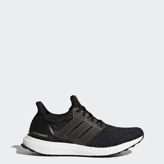 adidas ultraboost W US7 女鞋 黑色
