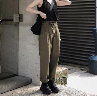 Froma長褲  挺版休閒工作褲(軍綠)