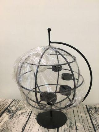 全新地球蠟燭檯
