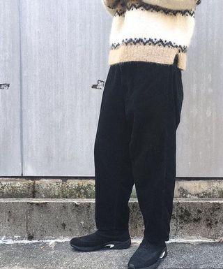 bukht BIG CORDUROY PANTS