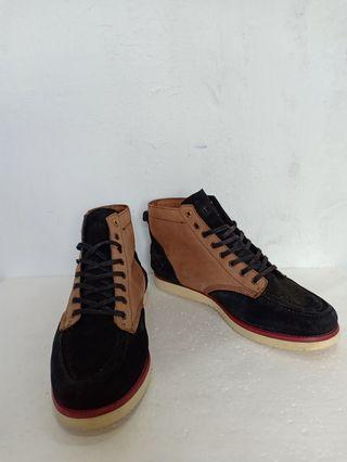 Etnies x Califas Plus x Mighty healty Black Ox Brown Boots Vibran Soles