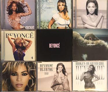9 x Beyoncé CDs 碧昂絲
