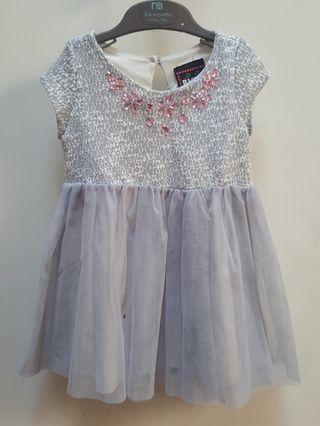[Preloved] GREY Gown