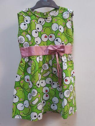 Kero Keropi GREEN Dress