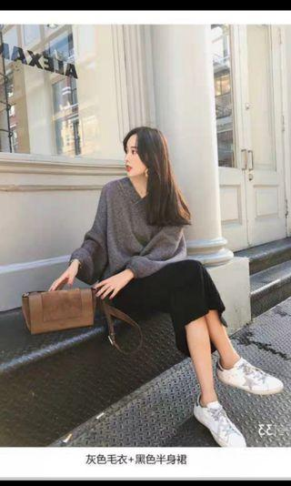 Long Sleeve Knitted Set