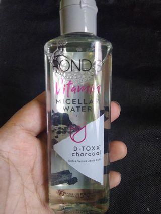 ponds Charcoal micellar/pembersih wajah