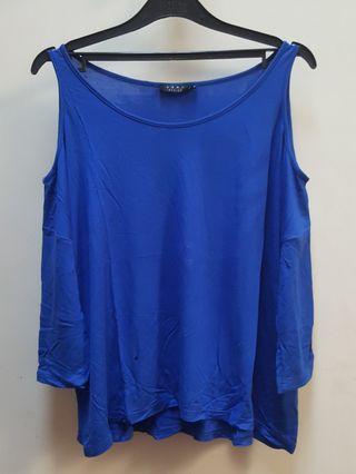ZALORA Blue Top