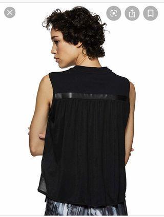 Nike Sportswear Bonded 女裝 黑色 棉質 休閒 圓領 背心 804040-010