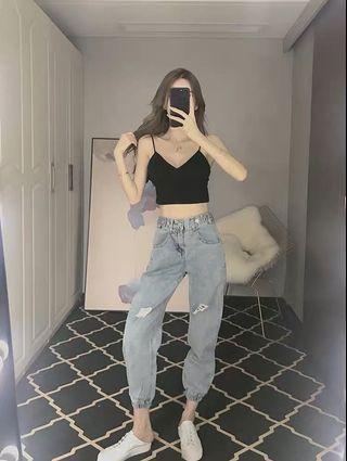 BN rubber waitst jeans