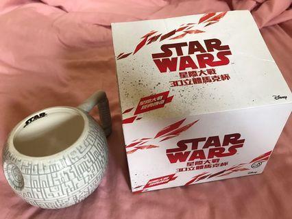 Star wars星際大戰 死亡星杯子