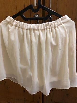 Rok Celana Broken White