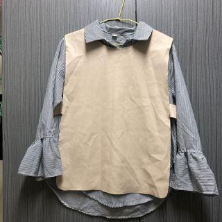 真兩件襯衫(背心可拆)