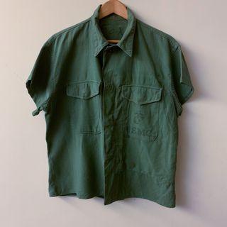 美軍公發海陸軍改製短袖襯衫 US USMC P53 Field Shirt Remake
