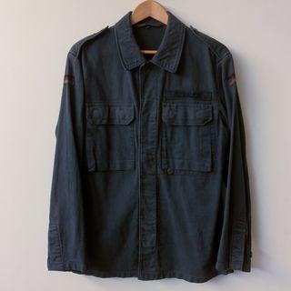 德軍公發襯衫 German Moleskin Military Jacket Vintage 軍裝 古著