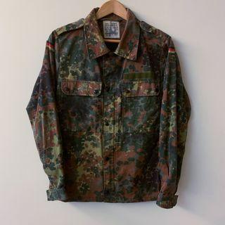 德軍公發迷彩襯衫 German Army Flecktarn Field Shirt  Vintage
