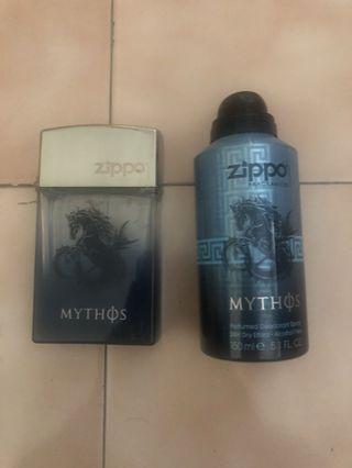 ZIPPO戰神75ML、體香噴霧150ml。