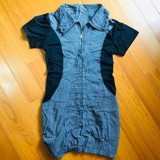 顯瘦洋裝 身型苗條 休閒洋裝