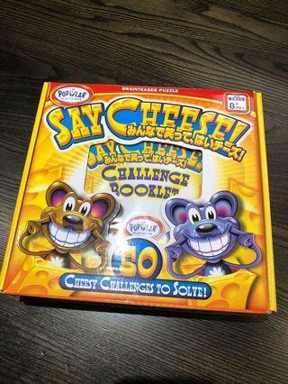 [二手]美國 POPULAR 老鼠吃起司 SAY CHEESE 益智玩具