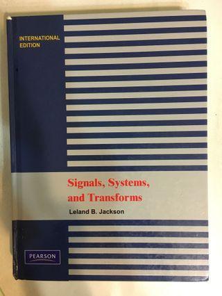 訊號與系統 訊系 signals,systems, and transforms