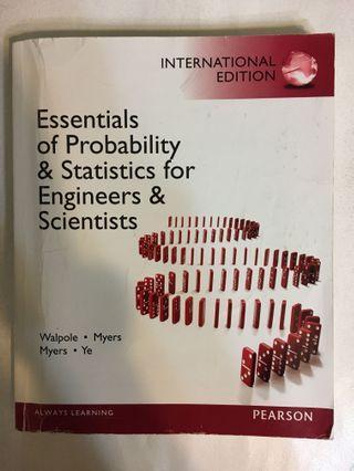 機率與統計 機統 essentials of probability & statistics for engineers & scientists