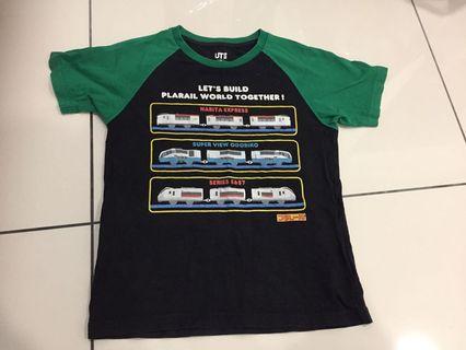 Uniqlo T shirt - plarail