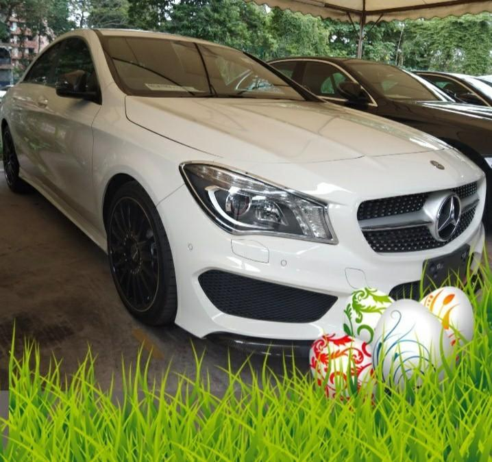 2014 RECON MERCEDES CLA250 AMG 2.0TURBO ON THE ROAD PRICE