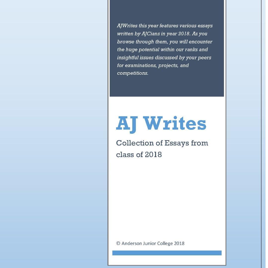 AJC GP model essays / AJ Writes