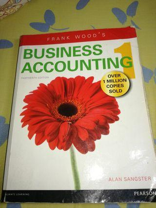 Business Accounting (Alan Sangster, Frank Wood) 13th/Thirteenth edition Pearson