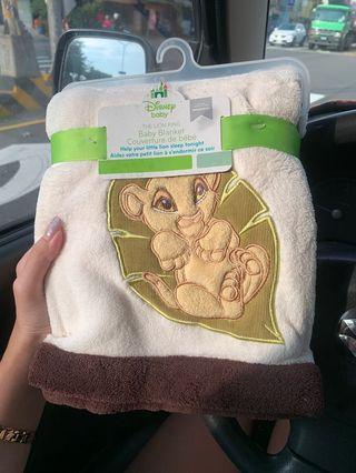 日本迪士尼購入 辛巴 獅子王 寶寶毯 嬰兒 毛毯 Disney