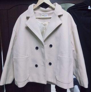 韓版秋冬毛呢大衣
