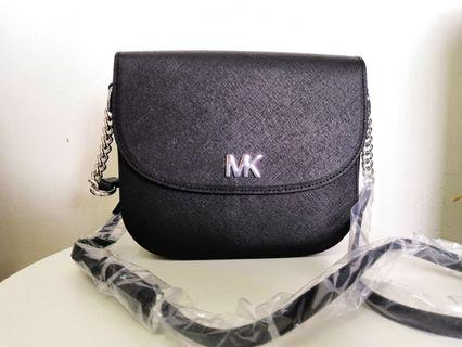 MK saddle mott crossbody bag