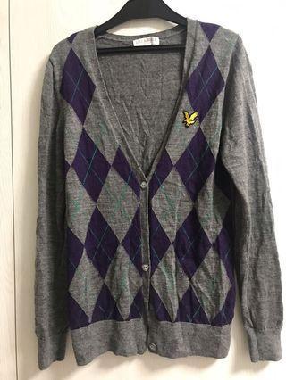 LYLE&SCOTE 美麗諾羊毛針織外套#剁手時尚