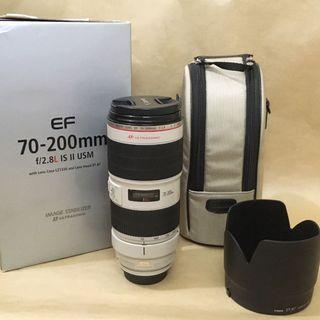 Canon EF 70-200mm f2.8L IS ii USM 小白兔