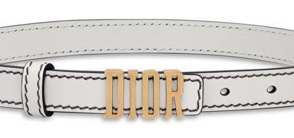 DIOR belt in White