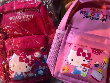 Hello Kitty 背包正品