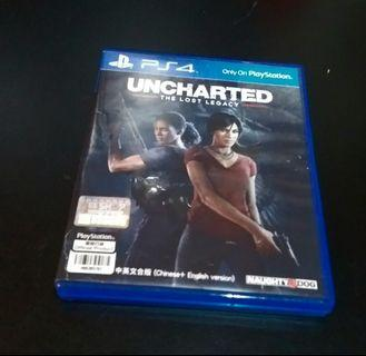 Uncharted The Lost Legacy Game PS4 almost like new..!