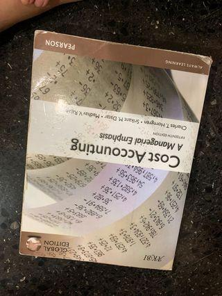 Cost accounting pearson