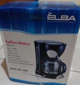 Coffee Maker ELBA Like NEW