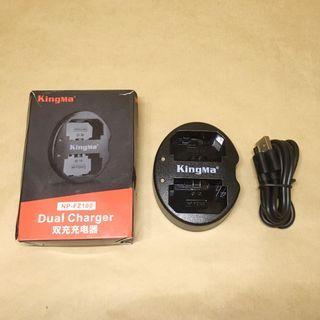 KingMa Sony FZ-100 雙槽電池充電器(A7III / A9)