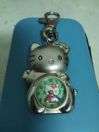 Hello kitty 吊飾錶