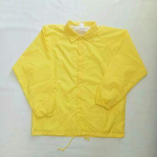 Windbreaker Yellow Print Star