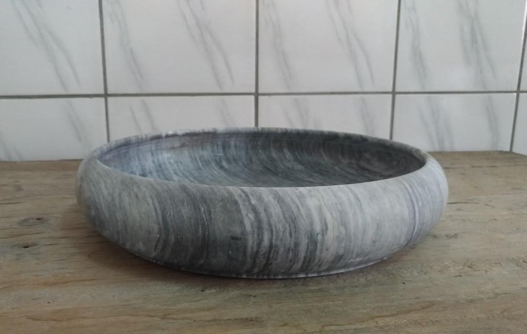 大理石水仙花盆—古物舊貨、早期民藝、礦石、花器相關收藏