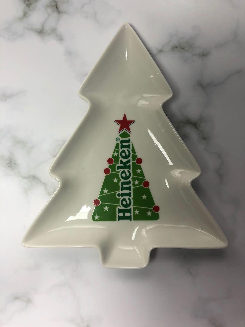 海尼根 聖誕樹 盤子