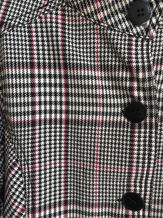 日本直間格仔 女裝修腰外套(斯文褸 薄褸 西裝褸 原價$399)