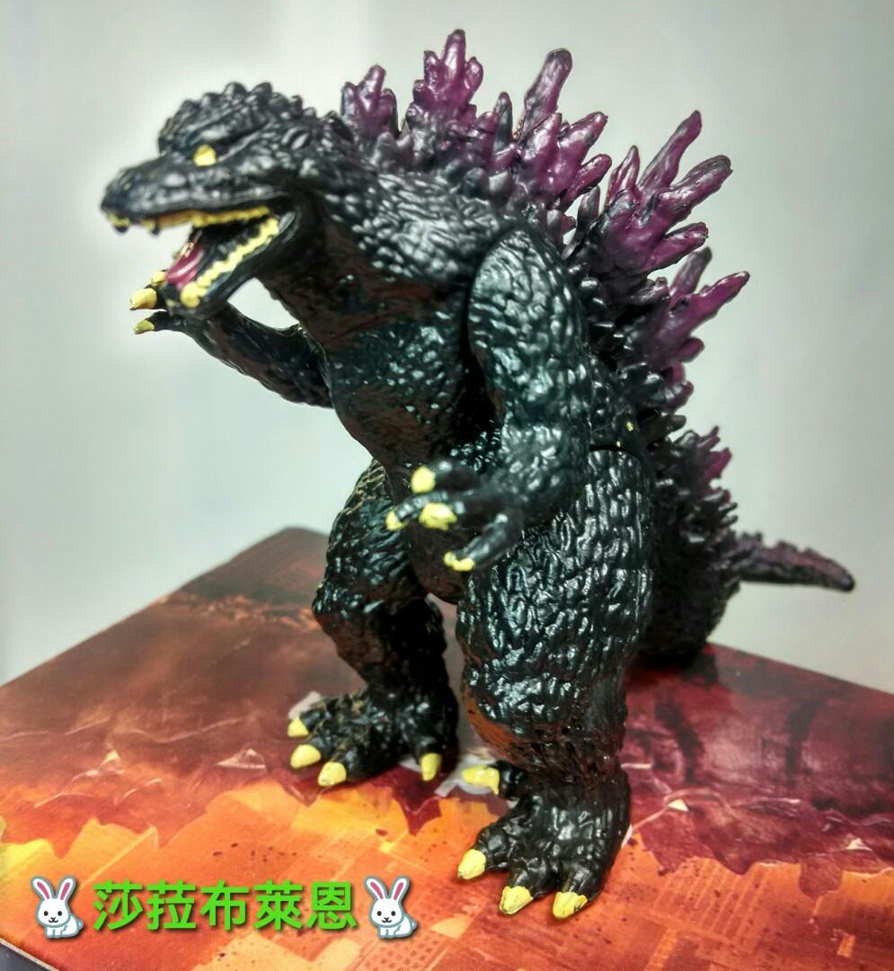 【莎菈布萊恩】哥吉拉 五世 Godzilla 四肢可動關節 怪獸之王 台中西屯區可面交 昭和 平成 公仔 PVC 現貨 實拍 (港版)