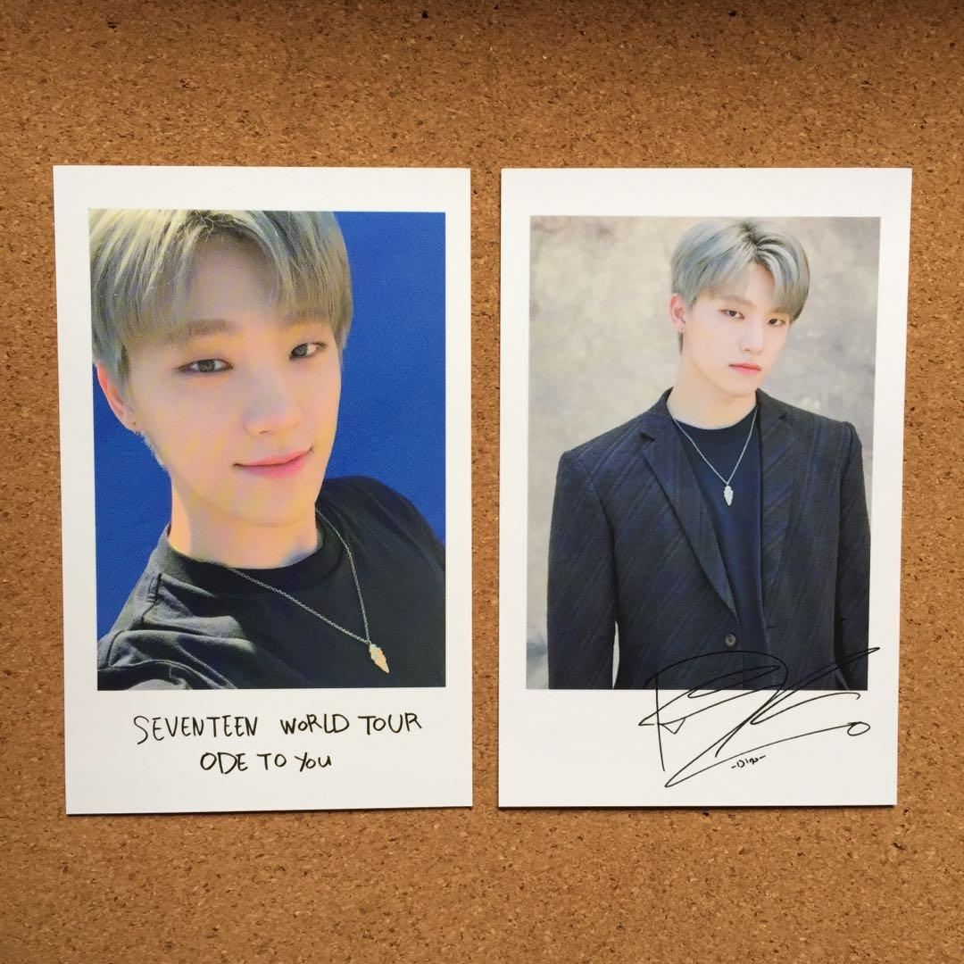 [ WTS ] Seventeen's Ode To You MD - Polaroid Photocard Set