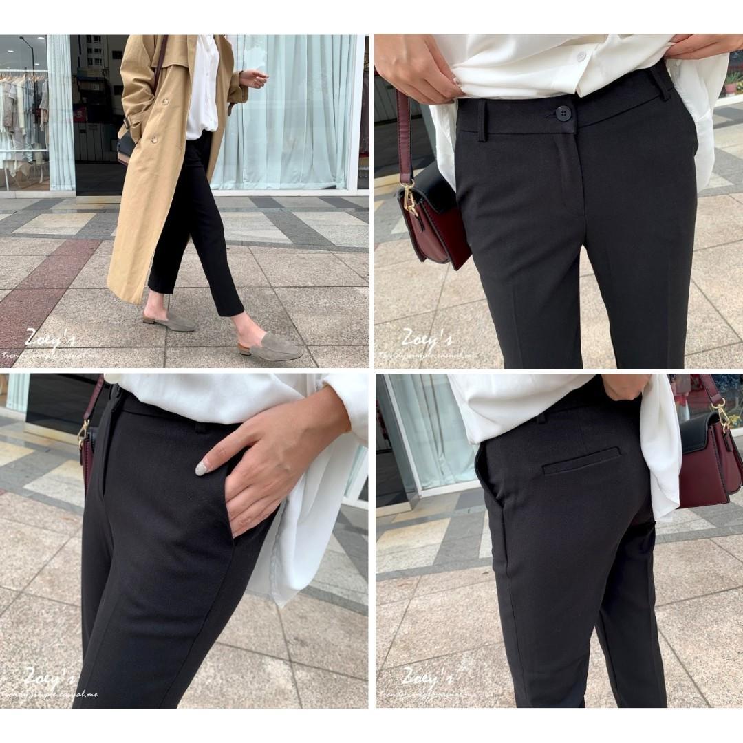 轉賣💕 Zoey's 正韓極簡西裝褲