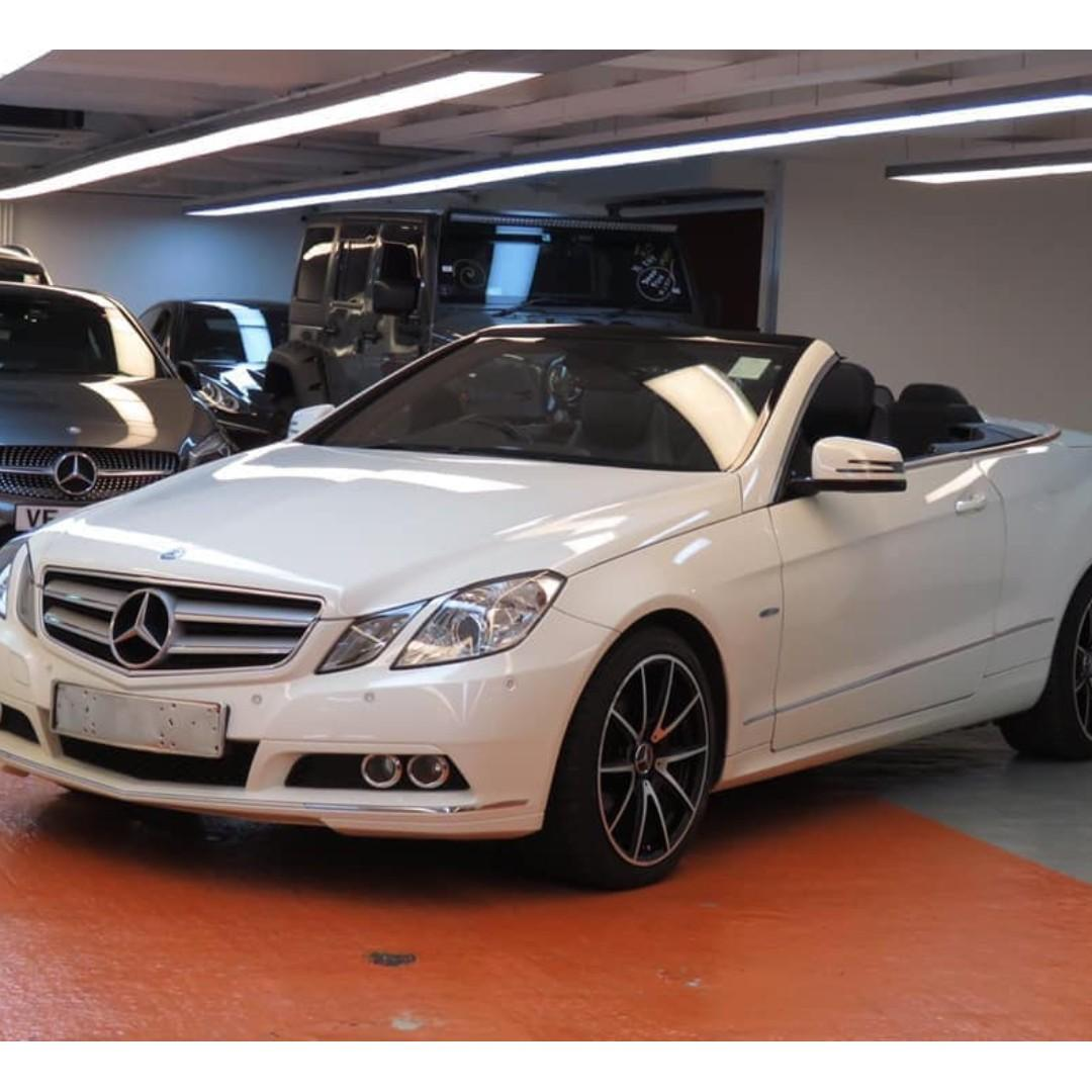 2011 MERCEDES-BENZ E200 CAB