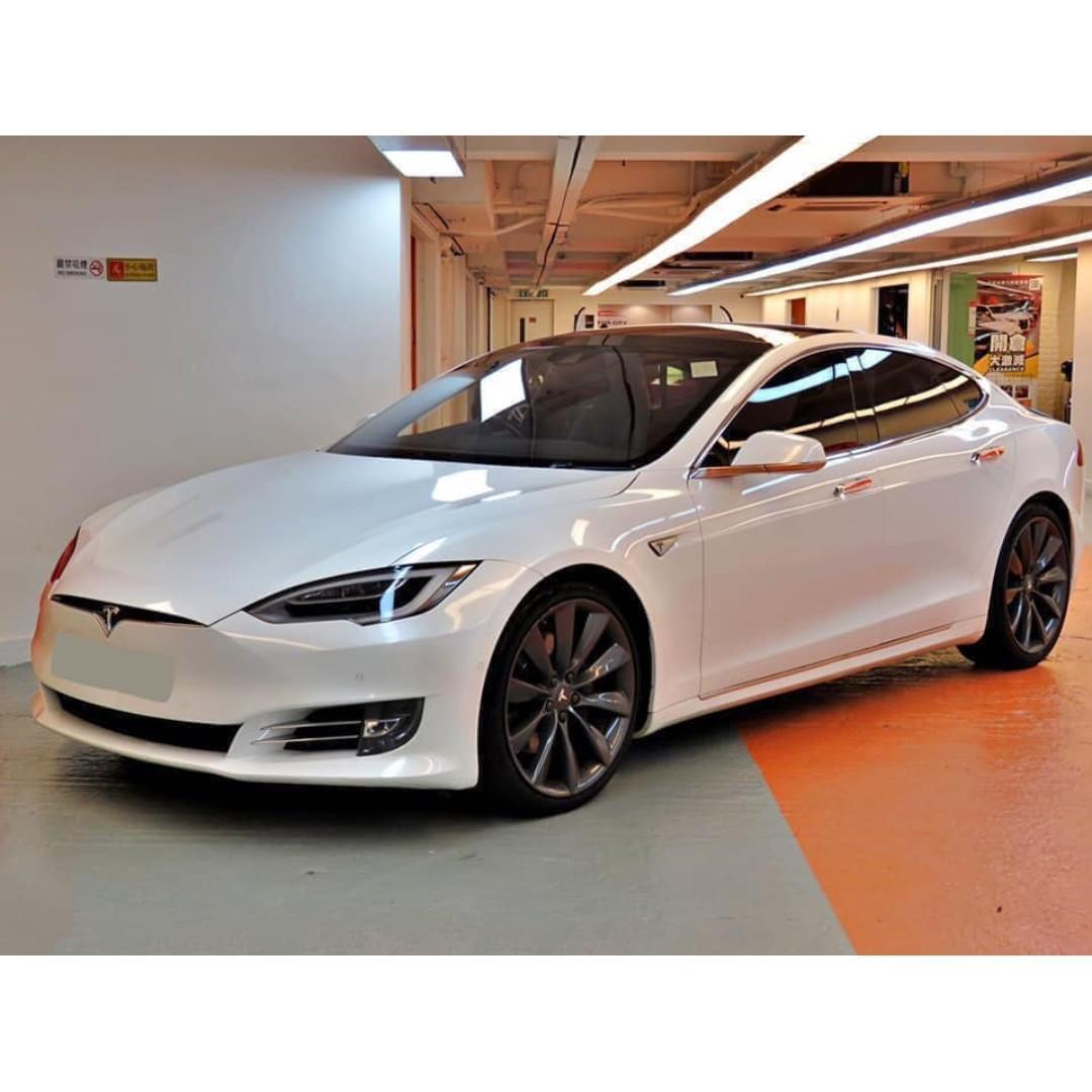 2016 Tesla Model S 90D 白色